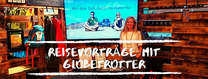 News bei Work Travel Balance: Reisevorträge mit Globetrotter